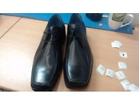 Marks and spencers leather shoe size 9 New still with stickers # 8047