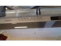 kenwood integrated dishwasher full size