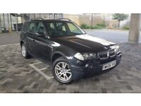 BMW X3 3.0 d SE SUV 5dr Diesel Automatic((W.MILEAGE+LEATHER INTERIOR +6M MOT))