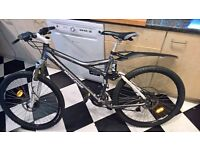 Professional mountain bike, in retail was£1,500 in discount, 3 years ago, 27 speed, fluid disc brake