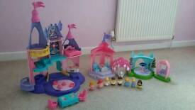 Fisher Price Little People Princess Castle and Garden Tea Party set