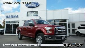 2017 Ford F-150 *NEW* SUPER CREW XLT *300A* 4X4 5.0L V8 GAS