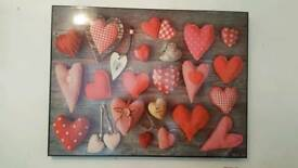 Large hearts picture