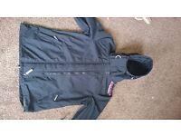 Black superdry coat large
