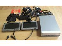 TV system for car