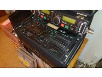 Numark cdn22 mk 4 and mixer