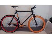 Great NO LOGO single speed bicycle Fixie LARGE FRAME