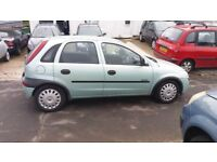 CORSA 1.2 NEW MOT ONLY 76,000 MILES