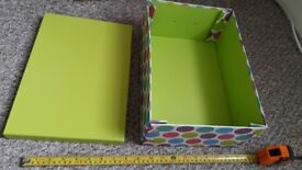 Storage Boxes Collapsible (6 available - £1 each)