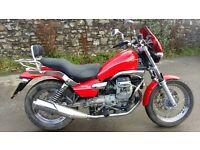 Moto Guzzi Nevada Classic Red Motorbike