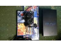 Ps2 with 5 games and 1 pad