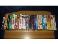 AVAILABLE IF LISTED. 23 VHS TAPES FOR SALE. Mixed Collection/Lot.