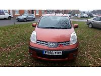 nissan note auto