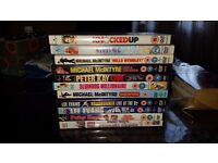 Adult comedy and childrens dvds for quick sale