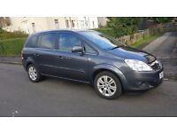 vauxhall zaphiera elite 1.8 petrol for sale