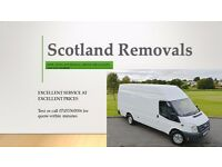 Scotland Removals - Low price , VAN & MAN service , Hire , Home Moving , Cheap , Driver , house
