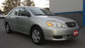 2004 Toyota Corolla CE                         *****LOW KMS*****