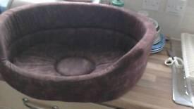 "PET BED. New Danish Design aprox. 22""x18""x9"". Bargain £12. 01159785741/07964832410"