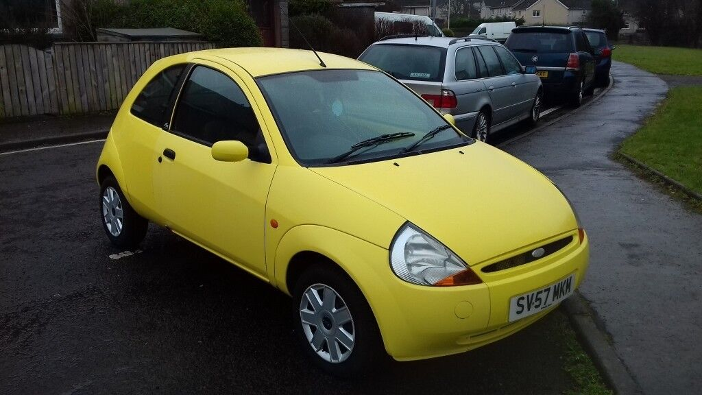 Ford Ka  Yellow Good Condition Reduced Price For Quick Sale
