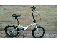 Integra Safari folding adult commuter bike bicycle cycle