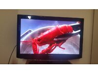 "37"" SAMSUNG, HD, BUILT IN FREEVIEW, 3 HDMI PORTS, ORIGINAL REMOTE CONTROL"