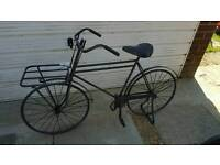 cast iron bicycle garden planter brand new rrp £160