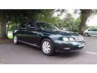Rover 75 Club FULL MOT, V6 2.0L, Good condition, genuine reliable car.