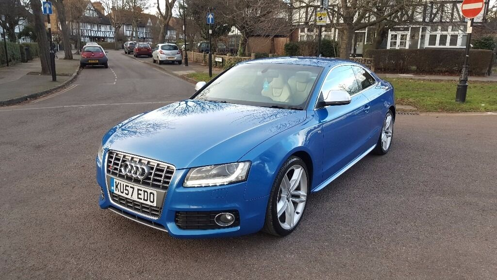 2008 audi s5 4 2 v8 fsi quattro rare manual sprint blue may swap in acton london gumtree. Black Bedroom Furniture Sets. Home Design Ideas