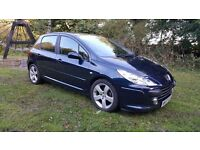 2007 57 PEUGEOT 307 SPORT 2.0 16V, JUNE 2017 MOT, TOP SPEC, FULL HISTORY, FULL LEATHER