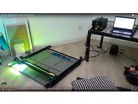 Large format laser cutter/engraver 850mm x 930mm