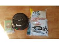 used Henry Vacuum Cleaner 1 speed new 3 Metre Hose new Brushes new Rods Kit 10 Bags new too