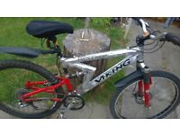 VIKING BIKE, NEW CRANK AND CHAIN FITTED ALL WORKING FINE £40