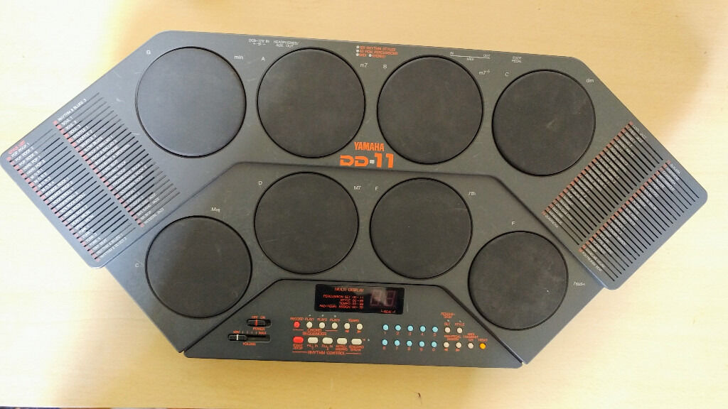 yamaha dd 11 portable midi 8 pad drum machine in willesden london gumtree. Black Bedroom Furniture Sets. Home Design Ideas