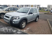 2006 DIESEL LAND ROVER FREELANDER 4X4 WARRANTED 1 YEAR MOT SERVICE HISTORY EXCELLENT DRIVE