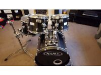 IMMACULATE MAPEX saturn 4 piece kit in transparent black