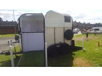 Catering trailer Rice horse trailer conversion retro