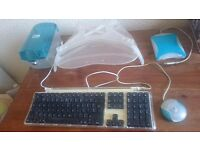 Rare Vintage Blueberry iMac accessories bundle