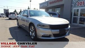 2015 Dodge Charger SXT Leather,Nav,Blind Spot & Cross Path Detec