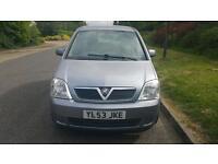 Vauxhall Meriva 1.6 petrol mot till next year very good conditions