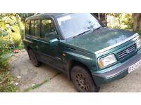 Suzuki vitara spares or repairs