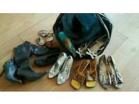 Wholesale Job lot of USED shoes. Approx 50 pairs.