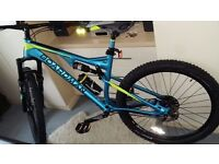 "BARGAIN !!! Boardman Mountain Bike Pro Full Suspension 27`5""- 19 "" , Brand New !!! Unwanted Gift !"