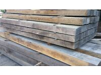 Air dried Oak Beams for sale in various sizes and finsihes