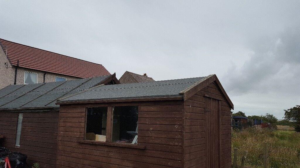 9 x 7 garden shed