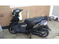 50cc jonway moped