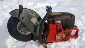 "Husqvarna k760 14"" petrol concrete saw/metal cut off saw (like stihl saw) 2014 model"