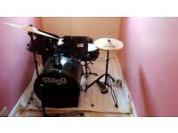 For Sale 5 piece drum set