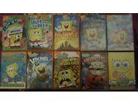 Spongebob Dvds (10)
