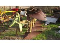 Dowdswell DP8A 4 Furrow reversible plough £1200 plus vat £1440