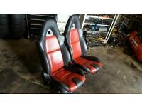 Mazda rx8 seats complete. Land rover defender, kit car,